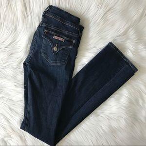 Hudson Dark Wash Beth Baby Boot Jeans